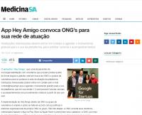 App Hey Amigo convoca ONG's para sua rede de atuação
